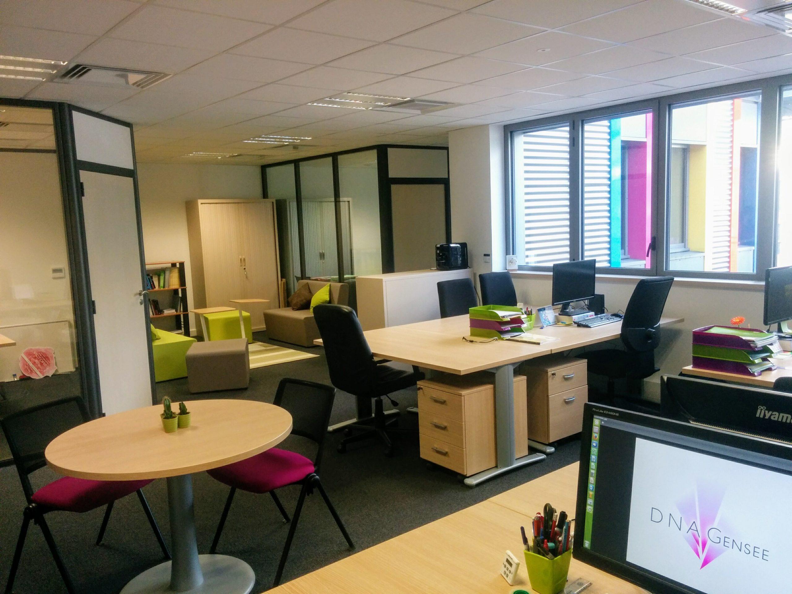 Les bureaux de DBA Gensee
