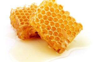 miel en alveole