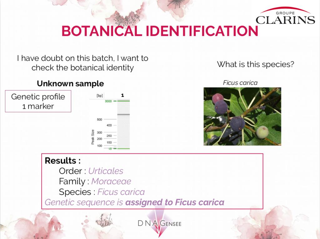 Authenticité et Traçabilité Génétique
