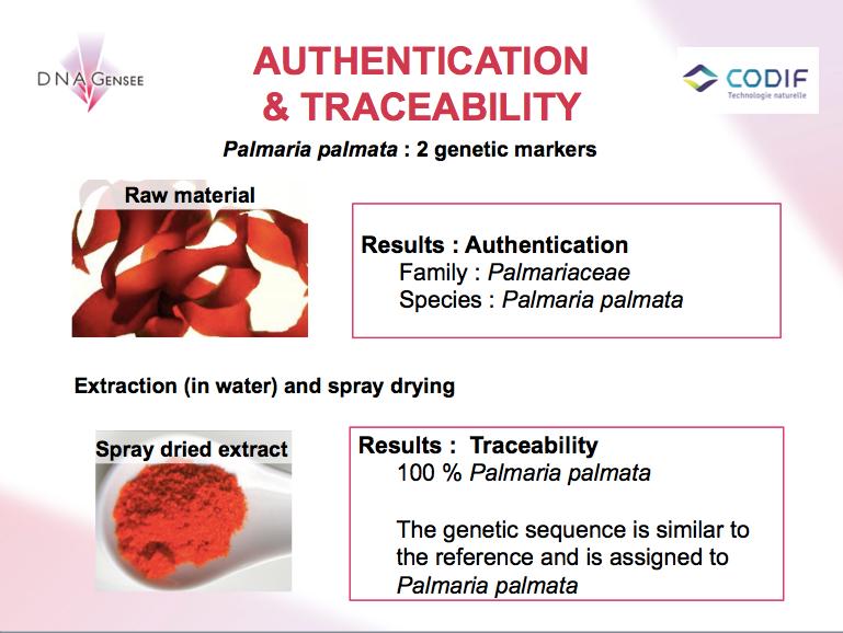 Authenticité et traçabilité